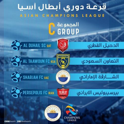 قرعه کشی لیگ قهرمانان آسیا 2020