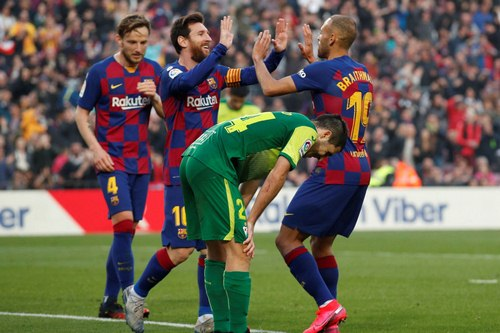 موفقیت های باشگاه بارسلونا