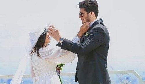 مریان رادپور و همسرش خشایار