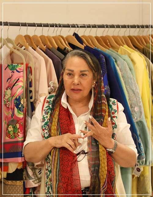 آیا مدل لباس های مهلا زمانی سنتی است؟