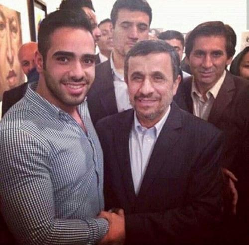 استوری ساشا سبحانی در مورد احمدی نژاد به چه موضوعی اشاره داشت؟